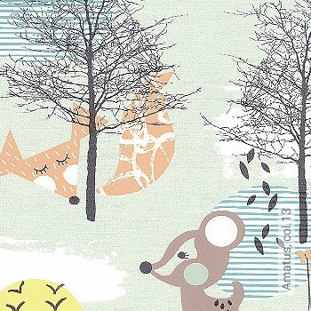 Preis:39,95 EUR - Kollektion(en): - KinderTapeten - Abwaschbare Tapeten