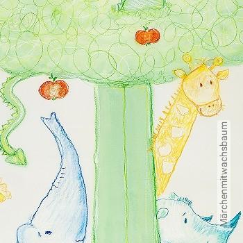 Preis:198,42 EUR - Kollektion(en): - KinderTapeten - Florale Muster