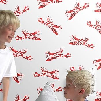 Preis:78,00 EUR - Kollektion(en): - KinderTapeten - Flugzeuge