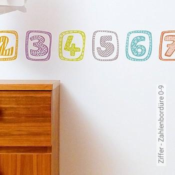 Preis:35,00 EUR - Kollektion(en): - KinderTapeten - Zahlen