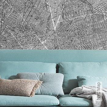 Preis:99,99 EUR - Kollektion(en): - Landkarte - FotoTapete