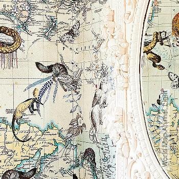 Preis:552,50 EUR - Kollektion(en): - Landkarte - NEUE Tapeten
