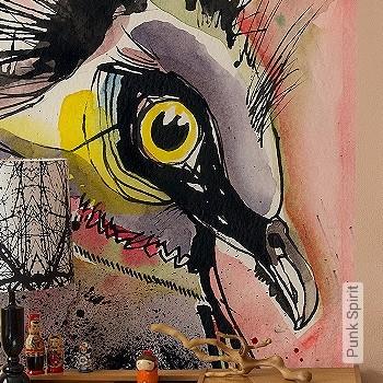Preis:129,00 EUR - Kollektion(en): - Leichte Prägung - FotoTapete - Zeichnungen - Tapeten mit Vogelmotiven