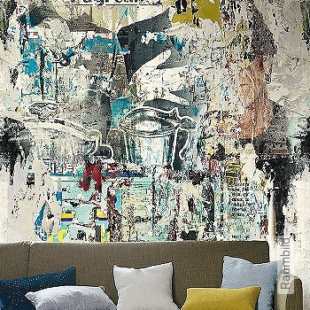 Price:438,50 EUR - Kollektion(en): - Multicolor - Mural - EN15102 / EN13501.B-s1 d0 - Good light fastness