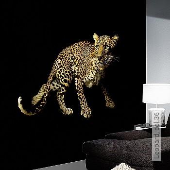 Price:409,30 EUR - Kollektion(en): - Mural - EN15102 / EN13501.B-s1 d0 - Good light fastness - Black - animal print