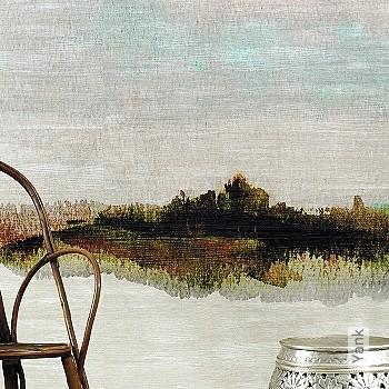 Price:799,00 EUR - Kollektion(en): - Mural - EN15102 / EN13501.B-s1 d0 - Turquoise  - Gradient - Washable