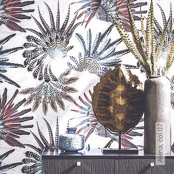 Price:438,50 EUR - Kollektion(en): - Mural - EN15102 / EN13501.B-s1 d0 - feathers - Black