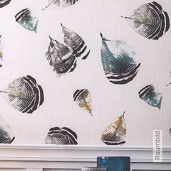 Price:93,40 EUR - Kollektion(en): - Mural - EN15102 / EN13501.B-s1 d0 - feathers - Good light fastness - Black