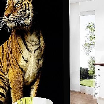 Price:409,30 EUR - Kollektion(en): - Mural - Good light fastness - Black - Ocher