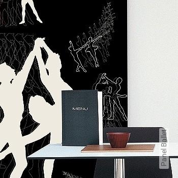 Price:190,80 EUR - Kollektion(en): - Mural - Good light fastness - Black - Paste-the-wall
