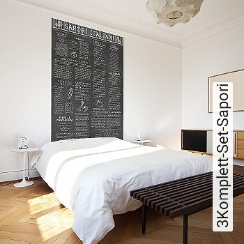Price:171,50 EUR - Kollektion(en): - Mural - Good light fastness - Black - Paste-the-wall