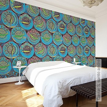 Price:49,00 EUR - Kollektion(en): - Mural - Good light fastness - Modern patterns