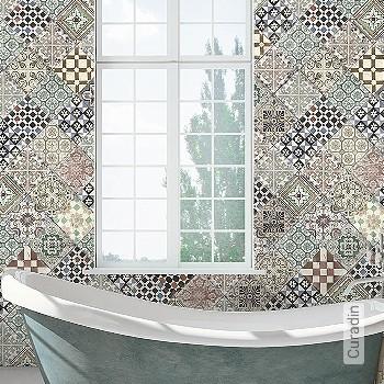 Price:438,50 EUR - Kollektion(en): - Mural - Good light fastness - Tile - bathroom