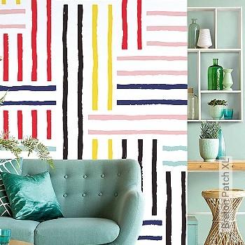 Price:210,00 EUR - Kollektion(en): - Mural - Stripe wallpaper