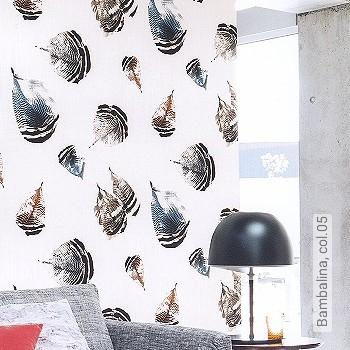 Price:93,40 EUR - Kollektion(en): - Mural - feathers - Good light fastness - Black