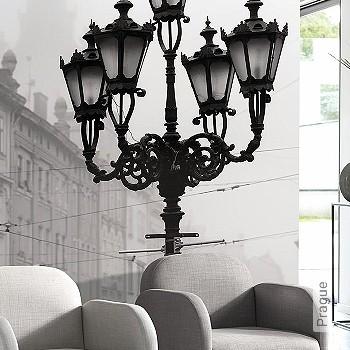Price:252,55 EUR - Kollektion(en): - Mural - grey - Good light fastness - Black