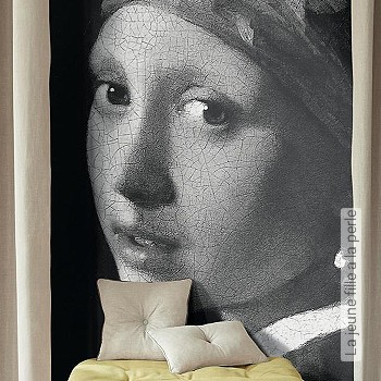 Price:186,50 EUR - Kollektion(en): - Mural - grey - Good light fastness - Black