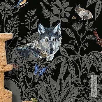 Price:480,00 EUR - Kollektion(en): - Mural - grey - Good light fastness - Black