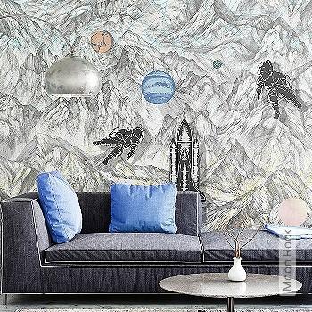 Price:378,30 EUR - Kollektion(en): - Mural - pink
