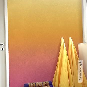 Preis:149,00 EUR - Kollektion(en): - Orange - FotoTapete - Farbverlauf - Abwaschbare Tapeten