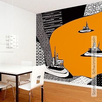 Preis:324,00 EUR - Kollektion(en): - Orange - FotoTapete - Gute Lichtbeständigkeit - Moderne Tapeten