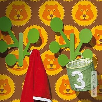 Preis:54,00 EUR - Kollektion(en): - Orange - KinderTapeten