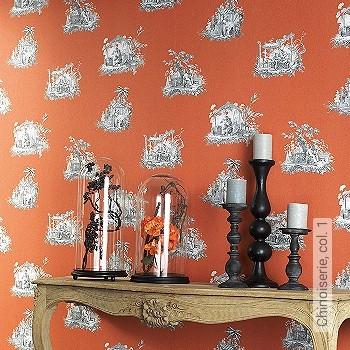 Preis:52,20 EUR - Kollektion(en): - Orange - NEUE Tapeten