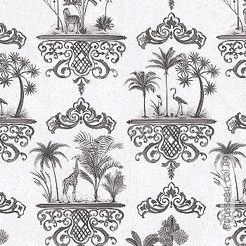 Preis:144,00 EUR - Kollektion(en): - Ornamente Tapeten