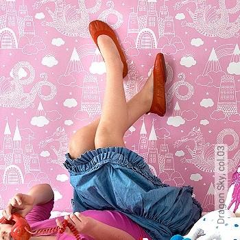 Preis:86,40 EUR - Kollektion(en): - Pink - KinderTapeten