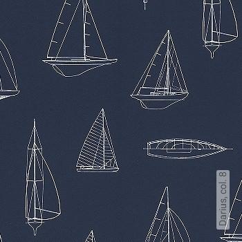 Preis:47,95 EUR - Kollektion(en): - Schiffe - NEUE Tapeten