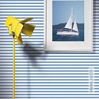 Preis:54,00 EUR - Kollektion(en): - Streifentapeten - KinderTapeten
