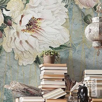 florale muster tapeten trends 2019 tapeten lust auf was neues. Black Bedroom Furniture Sets. Home Design Ideas