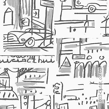zeichnungen anthrazit grau tapeten lust auf was. Black Bedroom Furniture Sets. Home Design Ideas
