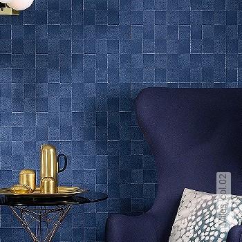 Preis:69,00 EUR - Kollektion(en): - Trendfarbe Blau - NEUE Tapeten