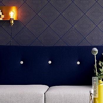 Preis:54,50 EUR - Kollektion(en): - Trendfarbe Blau - NEUE Tapeten