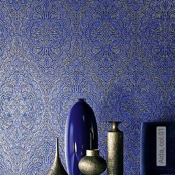 Preis:79,00 EUR - Kollektion(en): - Trendfarbe Blau - NEUE Tapeten