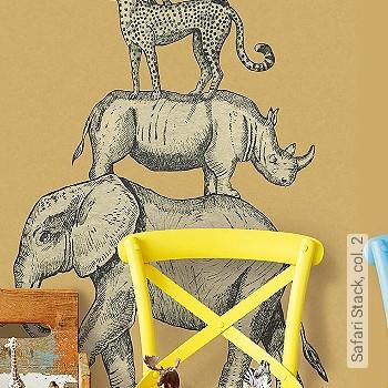 Preis:155,00 EUR - Kollektion(en): - Trocken restlos abziehbar - KinderTapeten