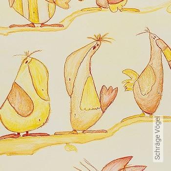 Preis:198,42 EUR - Kollektion(en): - Vögel - KinderTapeten