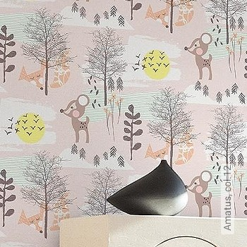 Preis:39,95 EUR - Kollektion(en): - Wandklebetechnik - KinderTapeten