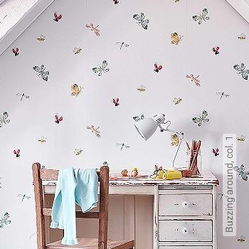 Preis:81,00 EUR - Kollektion(en): - Wandklebetechnik - KinderTapeten
