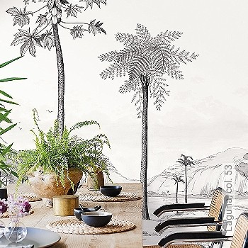 Preis:213,80 EUR - Kollektion(en): - Weiß - FotoTapete - EN15102/EN13501.B-s1 d0 - Anthrazit - Gute Lichtbeständigkeit - Vliestapeten - Blätter