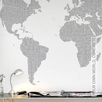 Preis:310,00 EUR - Kollektion(en): - Weltkarten auf Tapete - FotoTapete