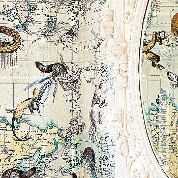 Preis:552,50 EUR - Kollektion(en): - Weltkarten auf Tapete