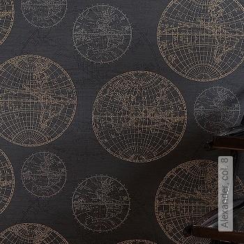 Preis:59,00 EUR - Kollektion(en): - Weltkarten auf Tapete