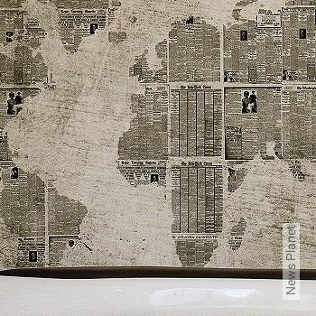 Preis:1.080,00 EUR - Kollektion(en): - Weltkarten auf Tapete