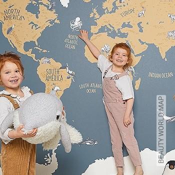 Preis:265,10 EUR - Kollektion(en): - Weltkarten auf Tapete