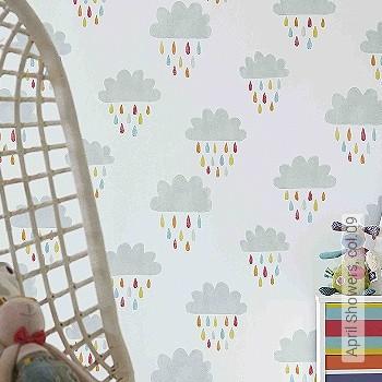 Preis:54,00 EUR - Kollektion(en): - Wolken - KinderTapeten