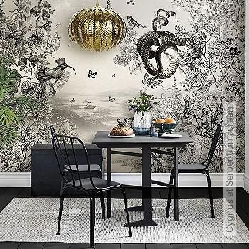 Preis:926,00 EUR - Kollektion(en): - Zeichnungen - Tapeten mit Vogelmotiven