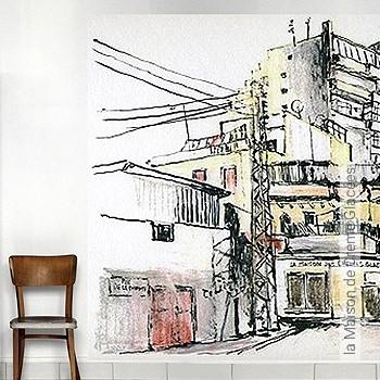 Preis:178,00 EUR - Kollektion(en): - FotoTapete - Zeichnungen - Vliestapeten