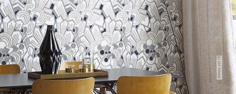 Wohnzimmer - Art Deco - Tapeten    Lust auf was Neues ...